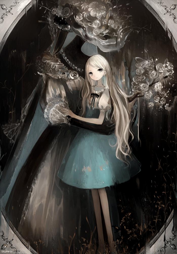 хрупкая девушка и гигантский серёга